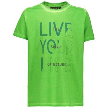 CMP T-ShirtsKID T-SHIRT - 39T7544 grün