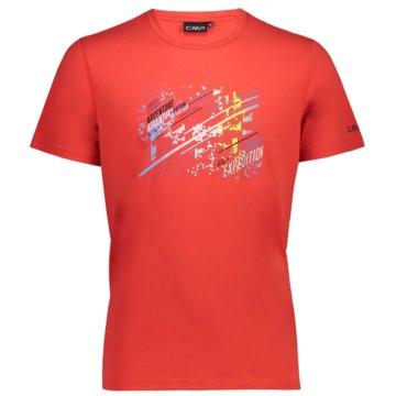 CMP T-ShirtsMAN T-SHIRT - 39T7567 rot