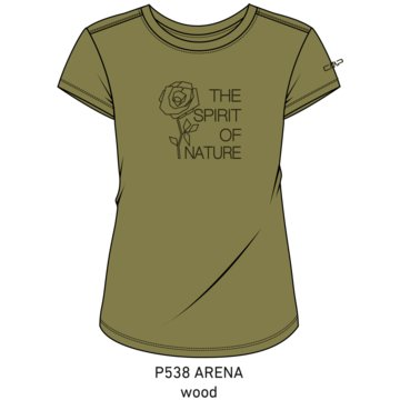 CMP T-ShirtsWOMAN T-SHIRT - 39T8336 beige