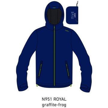 CMP RegenjackenKID RAIN FIX HOOD JACKET - 39X7984 blau