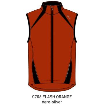 CMP LaufjackenMAN VEST - 3C89577T orange