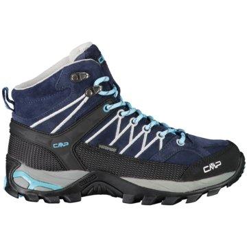 CMP Outdoor SchuhRIGEL MID WMN TREKKING SHOE WP - 3Q12946 blau