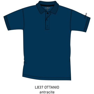 CMP PoloshirtsMAN POLO - 3T60077 blau