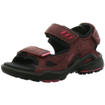 Ecco Offene Schuhe rot