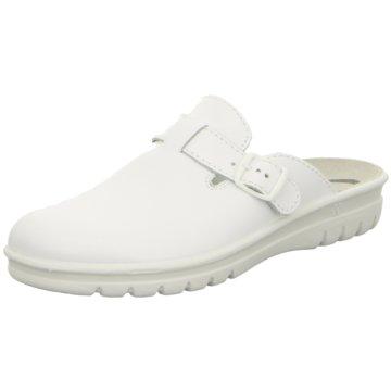 Westland Komfort PantoletteVillage weiß