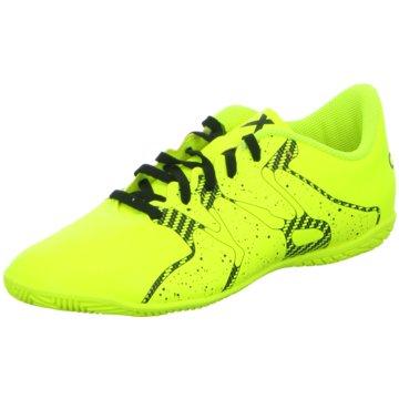 adidas Trainings- und HallenschuhX 15.4 IN gelb