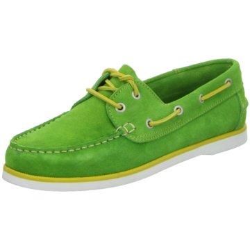 Jufosa Bootsschuh grün