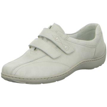 Waldläufer Komfort Slipper weiß