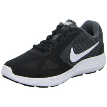 Nike RunningRevolution 3 schwarz