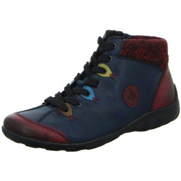 Rieker Komfort StiefeletteSneaker blau