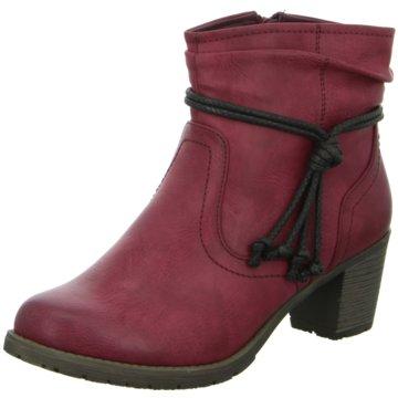 Hengst Footwear Klassische Stiefelette rot