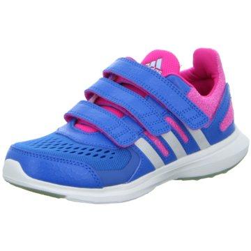 adidas Trainings- und Hallenschuhhyperfast 2.0 cf Laufschuh Kinder blau pink blau