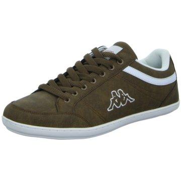 Kappa Sneaker Low braun