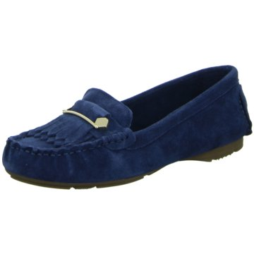 Tamaris Mokassin SlipperSlipper blau