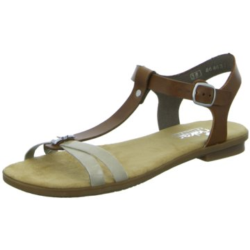 Rieker Sandale braun