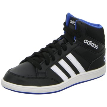 adidas Sneaker HighHOOPS MID K schwarz