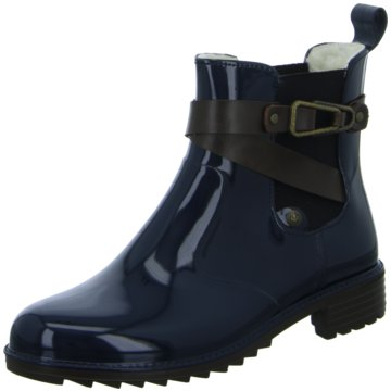 Rieker Chelsea BootSchlupfschuh blau