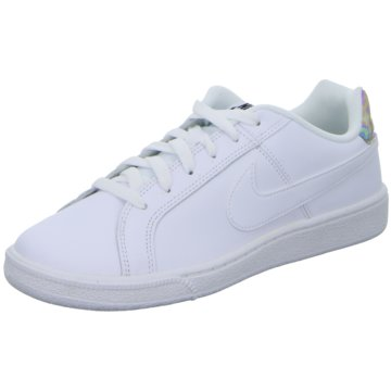 Nike Sneaker LowCourt Royale Sneaker Damen Schuhe weiß silber weiß