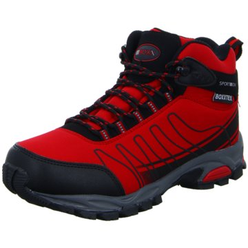 SportBOXX Outdoor Schuh rot