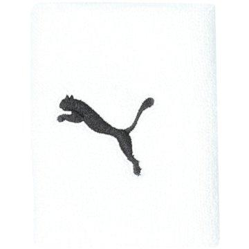 Puma Schweißbänder weiß
