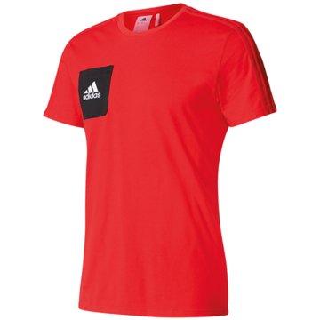 adidas Fan-T-Shirts rot