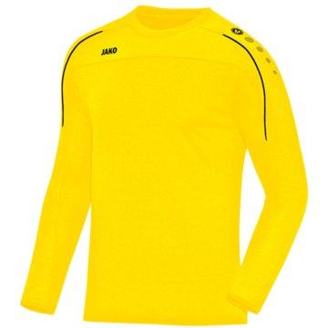 Jako Sweatshirts gelb
