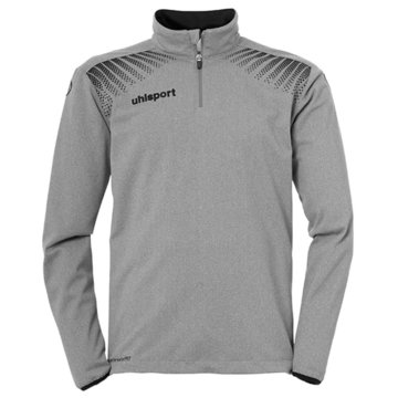 Uhlsport SweaterGOAL 1/4 ZIP TOP - 1005164 grau