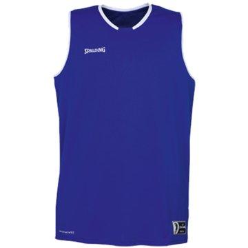 Spalding Basketballtrikots blau