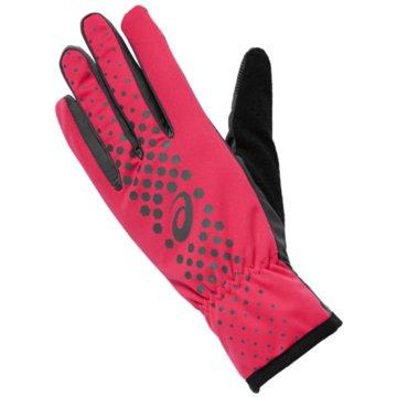 asics Fingerhandschuhe pink