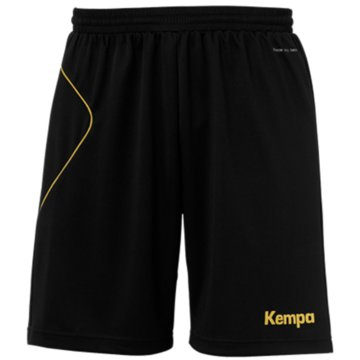 Kempa Kurze Sporthosen schwarz