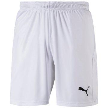 Puma Fan-HosenLiga Shorts Core weiß