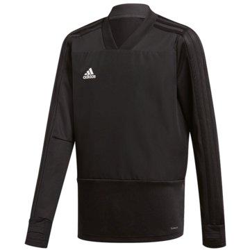 adidas SweatshirtsCON18 TR TOP Y - CG0389 schwarz