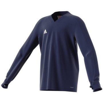 adidas SweatshirtsCON18 TR TOP Y - CG0393 blau