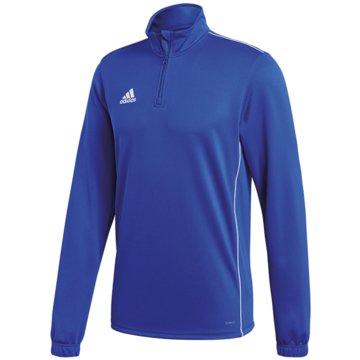 adidas SweatshirtsCORE18 TR TOP Y - CV4140 blau