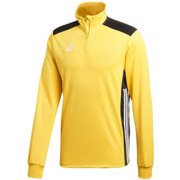 adidas SweatshirtsREGI18 TR TOP Y - DJ1841 gelb