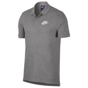 Nike Poloshirts grau