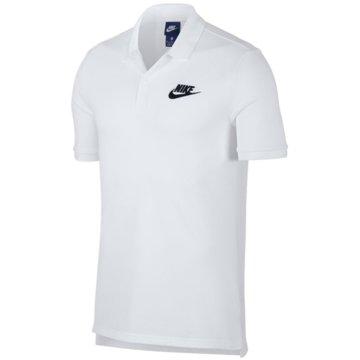 Nike PoloshirtsMEN'S NIKE SPORTSWEAR POLO - 909746 weiß