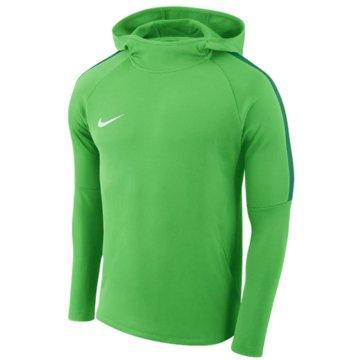 Nike HoodiesBOYS' DRY ACADEMY18 FOOTBALL HOODIE - AJ0109-361 grün