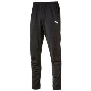 Puma Lange HosenLIGA Training Pants schwarz