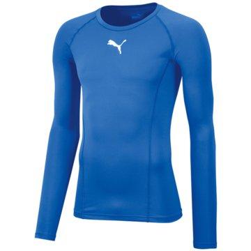 Puma LangarmshirtLIGA BASELAYER TEE LS - 655920 blau