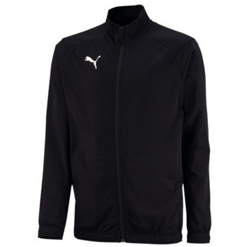 Puma Trainingsjacken schwarz