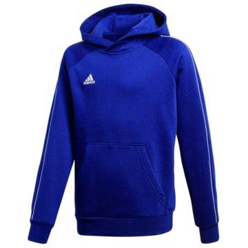 adidas HoodiesCORE18 HOODY Y - CV3430 blau
