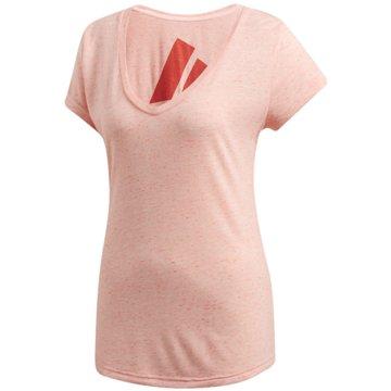 adidas Funktionsshirts rosa
