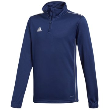 adidas SweatshirtsCORE18 TR TOP Y - CV4139 blau