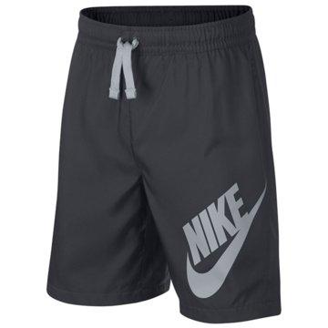 Nike Kurze Sporthosen grau