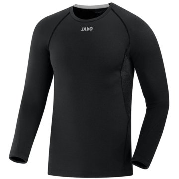 Jako Shirts & TopsLONGSLEEVE COMPRESSION 2.0 - 6451 8 schwarz