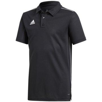 adidas PoloshirtsCORE18 POLO Y - CE9038 schwarz
