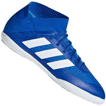 adidas Hallen-SohleNemeziz Tango 18.3 Indoor blau