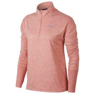 Nike SweaterElement 1/2-Zip Running Top rosa