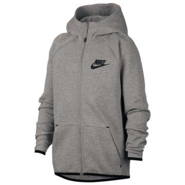 Nike SweatjackenNIKE SPORTSWEAR TECH FLEECE BOYS' F - AR4020 grau